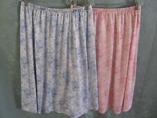 Vintage 90's Rose Print Skirts Size 18 Two Skirts Polyester Retro Romantic