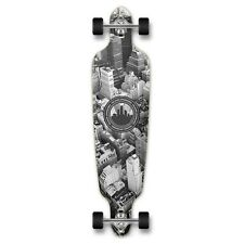 Yocaher Punked Drop Through New York Longboard Complete