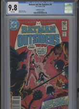 BATMAN AND THE OUTSIDERS #4 MT 9.8 CGC HIGHEST 1 OF 1 CANADIAN PRICE VARIANT
