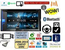 2006-2015 CHEVROLET GMC SILVERADO SIERRA SAVANA JVC USB Bluetooth CAR Stereo