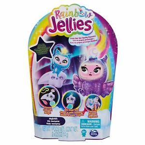 Rainbow Jellies Nightlife Edition Kids Glow in the Dark Squishy Customize Toys