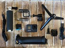 GoPro Hero8 Black CHDHX-801 Camera+128GB+Gemi Supersuit+3-Way Arm/Grip + Tripod