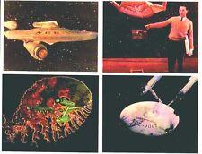 4 STAR TREK Enterprise 1966 8 x 10 color FX photos
