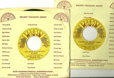 JOHNNY CASH,Ways of a Woman in Love b/ You're the Nearest Thing..SUN reissue, M-