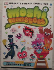 new Moshi Monsters DK Ultimate Sticker Collection
