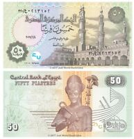 Egypt 50 Piastres 2017  Just Released  P-New Banknotes UNC