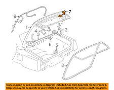 Cadillac GM OEM 98-04 Seville Trunk-Lock Cylinder 12456233