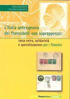 2006 Poste Italiane Libro Folder Italia Antesignana Francobolli con Sovrapprezzi