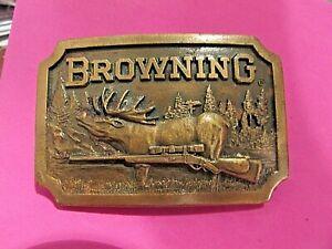 Vintage 1977 Browning Belt Buckle