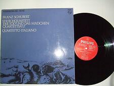Quartetto Italiano / Der Tod Und Das Madchen - Disco Vinile 33 Giri LP