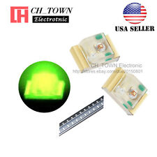 100PCS 0805 (2012) Green Light SMD SMT LED Diodes Emitting Ultra Bright USA