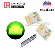 100PCS 0805 (2012) Green Light SMD SMT LED Diodes Emitting Ultra Bright USA