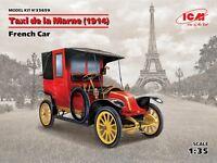 Taxi de la Marne (1914), French Car  1/35 ICM 35659