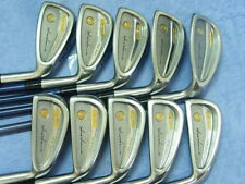 Honma Mens LB606 New H&F 18K gold golf iron 2stars Great Good Take!