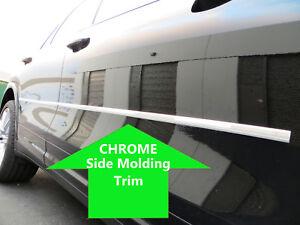 2pcs CHROME SIDE DOOR BODY Molding Trim Stripe for saturn models