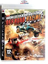 World Championship Off Road Racing PS3 Playstation Nuevo Precintado Retro Sealed