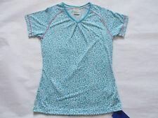 Camisetas y tops de deporte de mujer blancos de poliéster