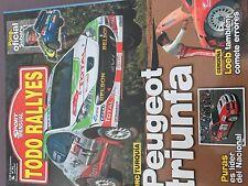 MAGAZINE TODO RALLYES  N°82 RALLY WRC ITALIE  CITROEN LOEB ANNEE 2007 98 PAGES