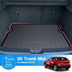 Car Rear Boot Trunk Liner Mat Protector Floor Mats fit Mazda CX30 CX-30 2019-21