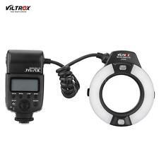 Viltrox JY-670C E-TTL Macro LED Ring Flash Speedlite Light for Canon Camera Z1E8