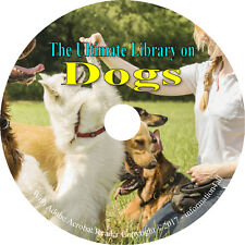 80 Books on DVD, Ultimate Library on Dogs, Train Breed Health Hunt History
