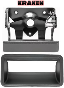 Kraken Tailgate Latch Handle And Bezel For Chevy Truck 1988-1998 1500 2500 3500