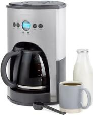 Andrew James Filter Coffee Machine with Timer & Reusable Water Filter