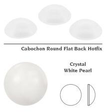 Genuine SWAROVSKI 2080/4 Round Cabochon Flat Backs Hotfix Crystals * Many Colors