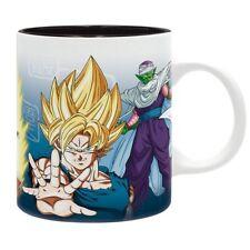 Dragonball Z - Keramik Tasse - Son Goku & Vegeta - Super Saiyajin & Piccolo