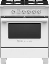 "Or30Scg4W1-Fisher And Paykel 30"" Classic Series Gas Range White! In Box"