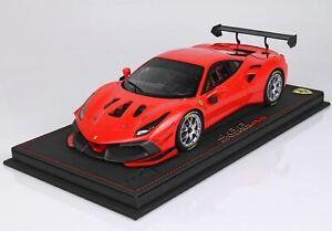 BBR Ferrari 488 Challenge EVO 2020 Rosso Scuderia 1/18 Limited Edition 24