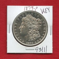 1879 MORGAN SILVER DOLLAR #93411 $ HIGH GRADE COIN US MINT RARE KEY DATE ESTATE