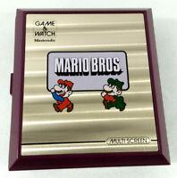 Nintendo Game & Watch Mario Bros  Envoi rapide et suivi