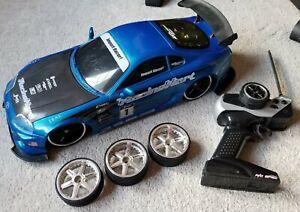 JADA TOYS IMPORT RACER TOYOTA SUPRA 1:10 R/C SPEC 27MHZ