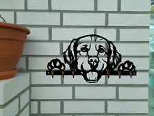 Schlüsselbrett Schlüssel Brett Hund Dog Golden Retriever Welpen Dog Hunde Futter