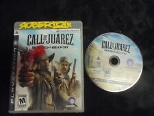 """USED PS3   """"Call Of Juarez"""" The Cartel"""