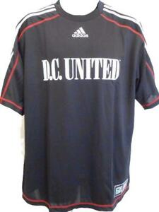 NEW MLS D.C. United Adult Mens Sizes XL-2XL Adidas Climalite Jersey