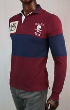 POLO Ralph Lauren Long Sleeve Rugby~Skull And Crossbones~CUSTOM SLIM FIT~NWT