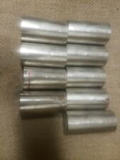 "Alloy 304 Stainless Steel Solid Round Bar - 1 7/8"" , 9 pieces×3.5"" 31.5"" total"