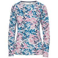 Trespass Womens Long Sleeve Tshirt Summer Top Casual Look Margery