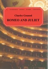 Romeo and Juliette Vocal Score Piano Vocal Sheet Music Book NEW 050337230