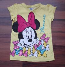 Maus-Minnie Mädchen-T-Shirts & -Tops mit Rundhals-Ausschnitt aus 100% Baumwolle