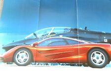 McLaren F1 Poster (Reversible) Size 86cm x 58cm.