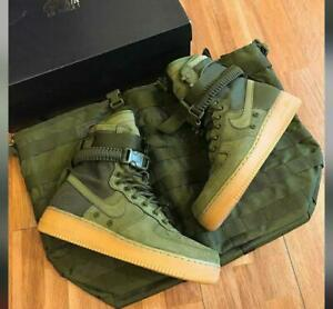 """Nike AirForce 1 """"Olive"""" Special Field man's shoes, 1 One SF High Shoe Boot"""