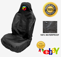 ABARTH - Car Seat Covers Protectors x1 / Fits Fiat Abarth 595