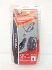 Verizon Headset, Car Charger & Case Essential Package For LG VX3200 Cell Phone