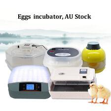 10,12,56,60 Auto&Semi-Automatic Egg Incubator Poultry Chicken Quail Thermostat
