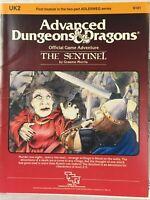 UK2 Advanced Dungeons and Dragons The Sentinel 9101 Module Adlerweg Series TSR