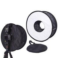 45CM Macro Ring Flash SoftBox Diffuser for Canon Nikon Yongnuo Godox Speedlite