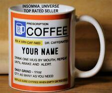 Personalized Prescription Coffee Mug!!! Perfect Gift! 100% SELLER!!